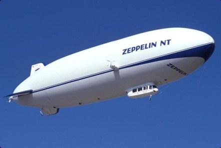 """Le Zeppelin """"Neue Technologie"""", en vol depuis une dizaine d'années."""