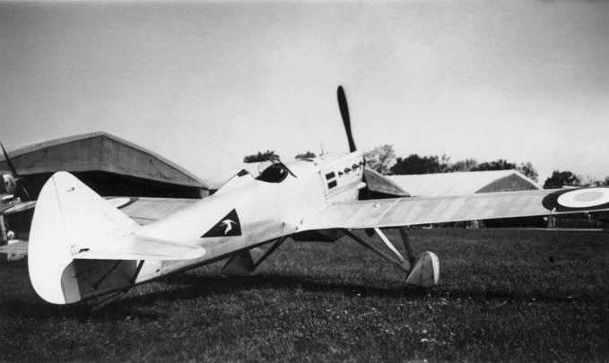 Dewoitine 510 de  la 1ère escadrille du GC I/5, SPA 67. Collection Sergent Henri Biard