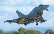 Premier largage d'un missile Storm Shadow (SCALP) par un Typhoon d'expérimentation