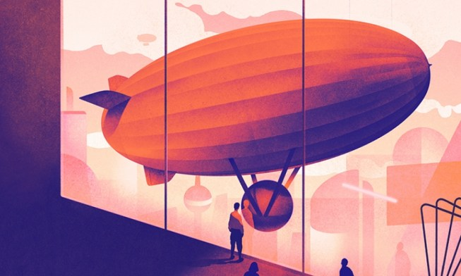 Illustration, U&R Zeppelin