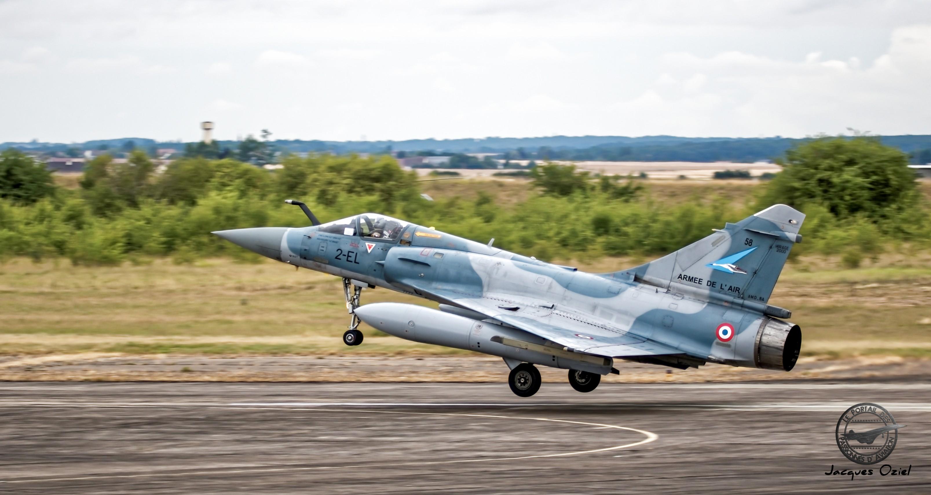 Dassault Mirage 2000-5F - 58/2-EL - France/EC 1/2 Cigognes