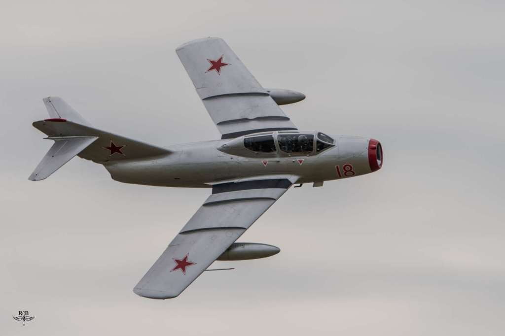 MiG-15UTI du Norwegian Air Force Historical Flight