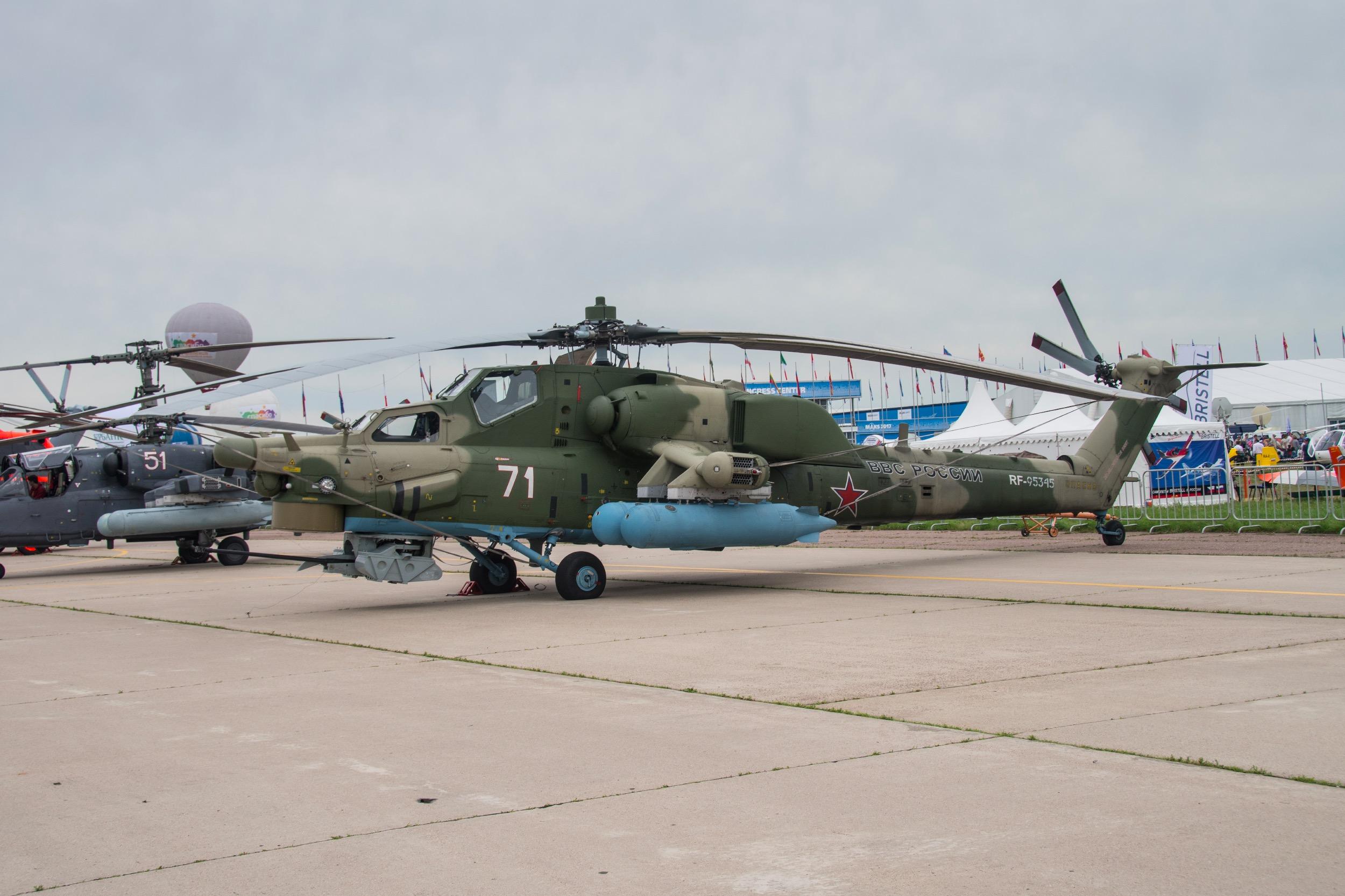 "Mil Mi-28N ""Havoc"", 71 blanc"