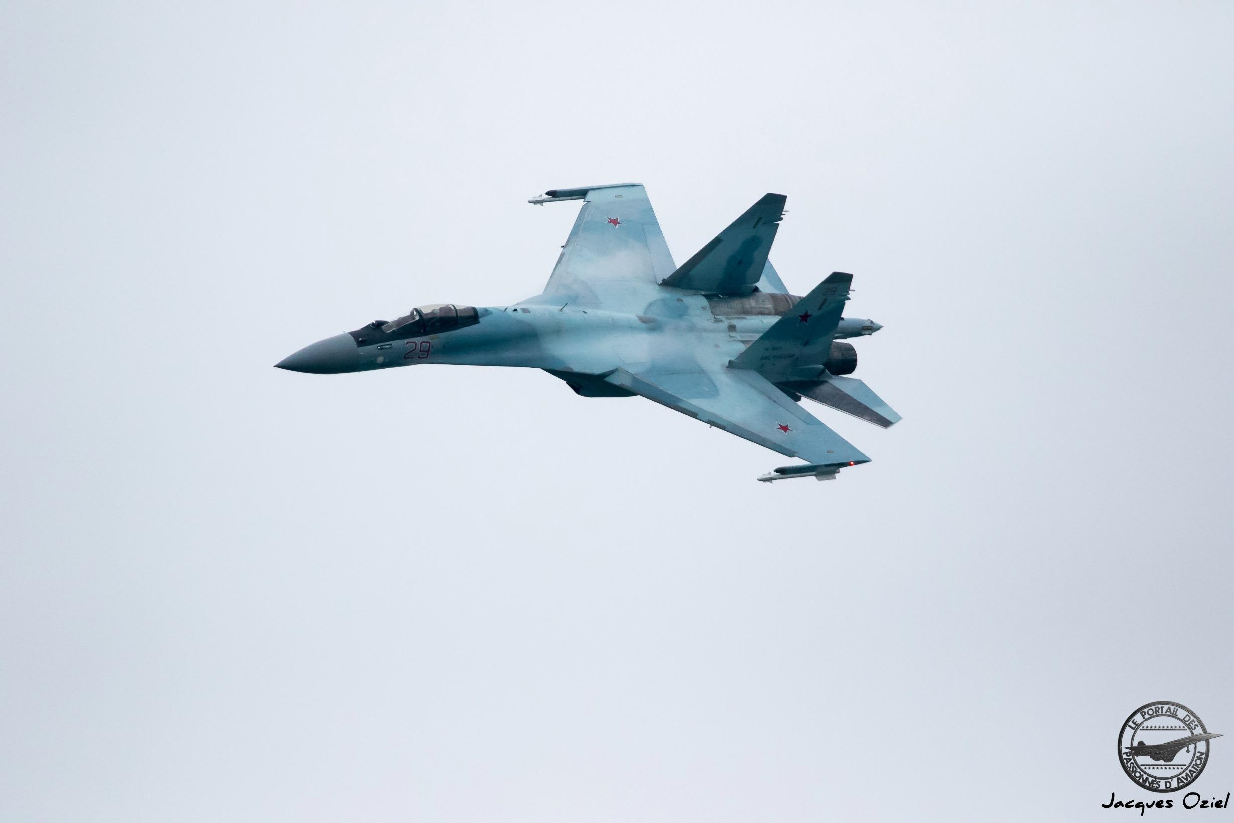 Sukhoi Su-35S Flanker E, 29 Rouge