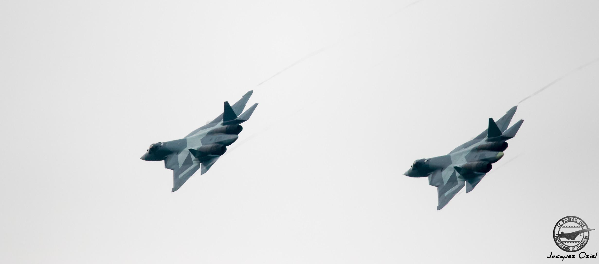 PAK-FA T-50, prototypes du Sukhoi Su-57 chasseur russe de 5° génération
