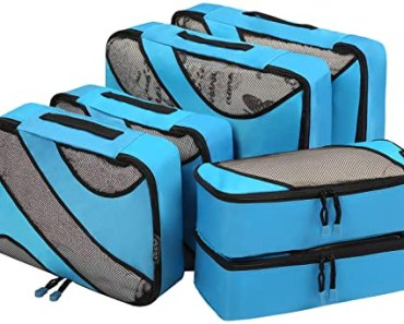 5 meilleurs lots d'organisateurs de sac et de valise de voyage en 2020