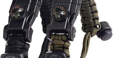 Meilleur bracelet de survie - Test, Avis et Comparatif
