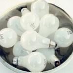 žárovky, zářivky