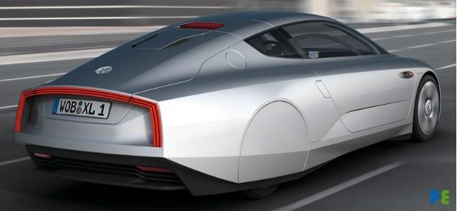 vw xl1 hibrido grande Novo Hibrido da Volkswagen XL1 vai consumir 1 litro