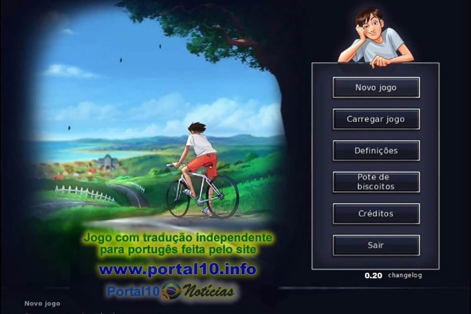 Jogo SummerTime Saga versão 0.20 em português para Android e PC