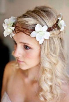 penteados de casamento com flores 7