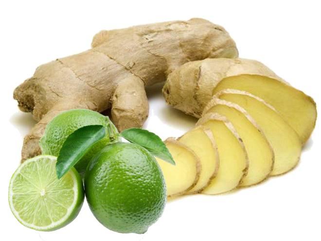 Misturar gengibre com limão é uma arma poderosa no combate à barriga saliente. Os dois aliementos se complementam se ingeridos conjuntamente. O limão promove uma faxina Detox no seu organismo, potencializando os efeitos do gengibre, que acelera o metabolismo e ajuda a queimar calorias.