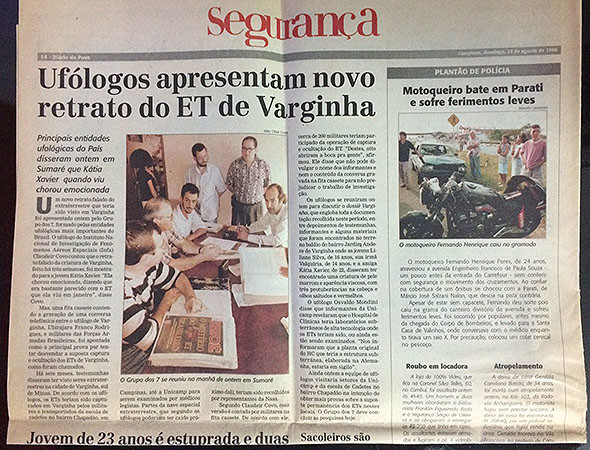 Grupo dos Sete no Diario do Povo