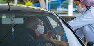 Está marcado para amanhã (30 de maio) a última edição do drive-thru de vacinação contra a gripe realizado pela Secretaria de Saúde de Cotia.