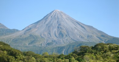 Así luce el Volcán de Colima