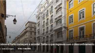 Photo of Lisboa e Porto começam a acordar. Saiba o que regressa com o desconfinamento