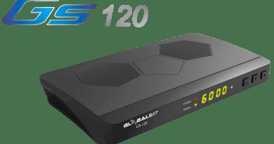 Globalsat GS120 Plus Atualização V1.35 – 07/08/2019