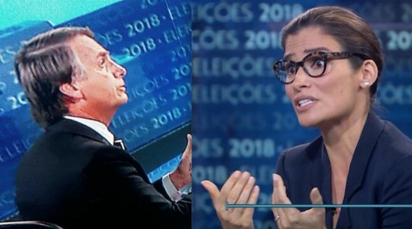 Resultado de imagem para Bolsonaro no Jornal Nacional