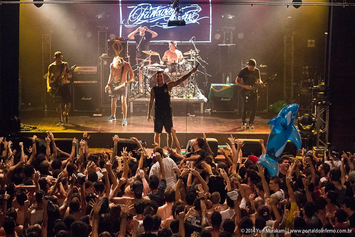 Heaven Shall Burn e Parkway Drive – Carioca Club – São Paulo/SP