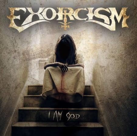 """Capa de """"I Am God"""", o primeiro disco do Exorcism"""