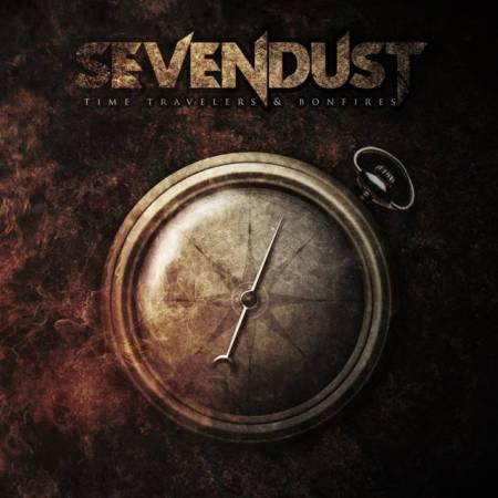 """Capa de """"Time Travelers & Bonfires"""", o próximo disco do Sevendust"""