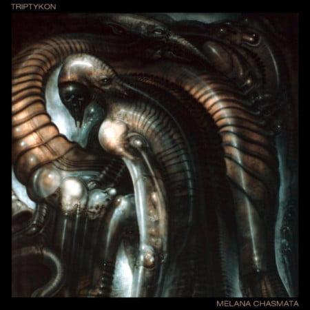 """Capa de """"Melana Chasmata"""", o mais recente disco do Triptykon"""