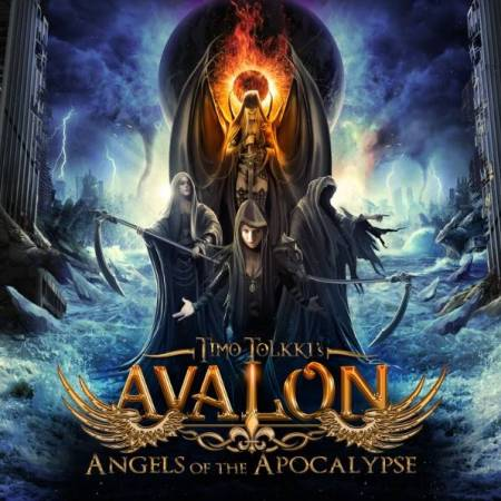 "Capa de ""Angels of the Apocalypse"", o novo disco do Timmo Tolkki's Avalon"