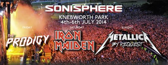 Sonisphere UK: HIM e Anthrax são anunciados para o festival