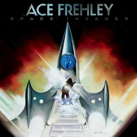"Capa de ""Space Invader"", novo disco solo de Ace Frehley"