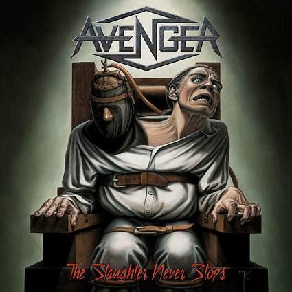 """Capa de """"The Slaughter Never Stops"""", o novo disco do Avenger"""