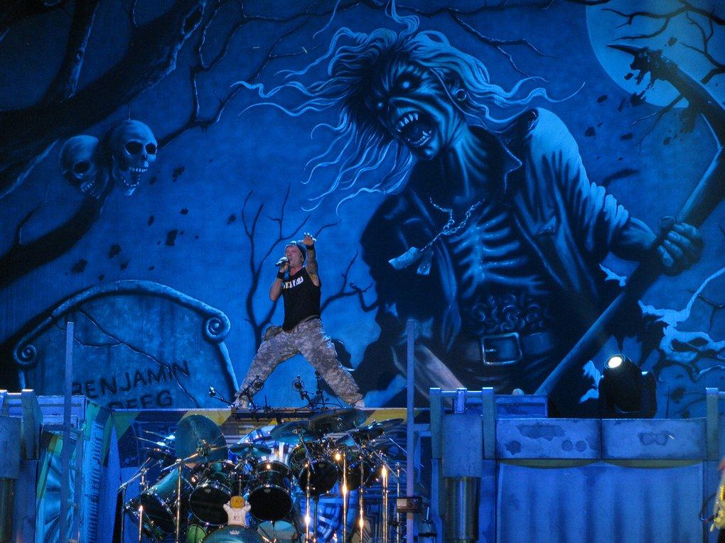 Iron Maiden: show no Rock am Ring será transmitido ao vivo