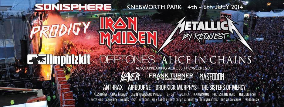 Sonisphere UK: festival leva fãs ao backstage por meio de promoção criativa