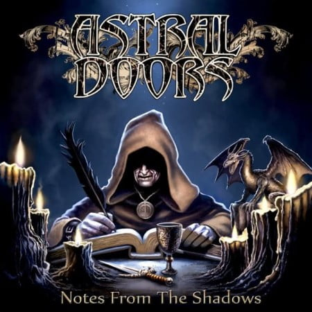 "Capa de ""Notes from the Shadows"", novo disco do Astral Doors"