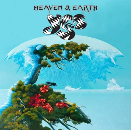 "Capa de ""Heaven & Earth"", o novo disco do Yes"