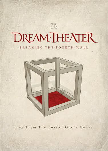 "Capa de ""Breaking the Fourth Wall (Live from the Boston Opera House) "", novo DVD/Blu-ray do Dream Theater"