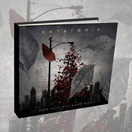 "Capa de ""Last Fair Day Gone Night"", novo CD/DVD duplos do Katatonia"
