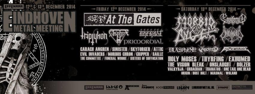 Eindhoven Metal Meeting: informações sobre o definitivo festival holandês