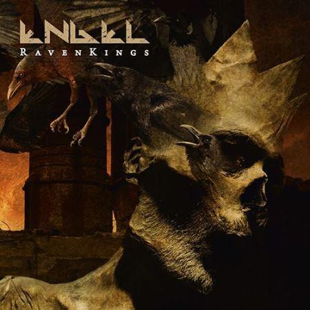 """Capa de """"Raven Kings"""", o próximo disco do Engel"""