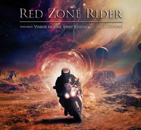 Capa de debut do Red Zone Rider