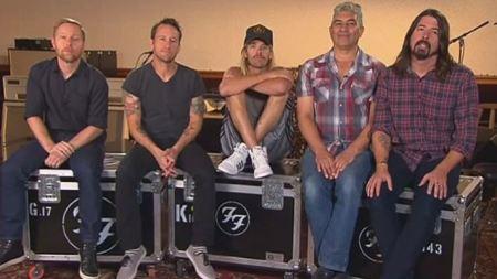 Foo Fighters (Foto: divulgação)