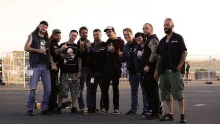 Malevolent Creation em membros da Century Media (Foto: Ricarda Menn)