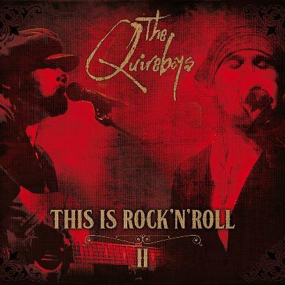 """Capa de """"This Is Rock 'N' Roll 2"""", relançamento do The Quireboys"""