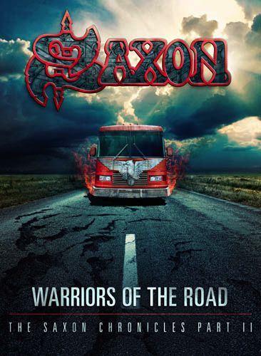 Capa do novo registro ao vivo do Saxon