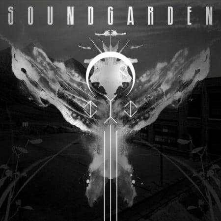 Capa da compilação de raridades do Soundgarden