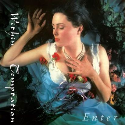 "Capa de ""Enter"", o debut do Within Temptation lançado em 1997"