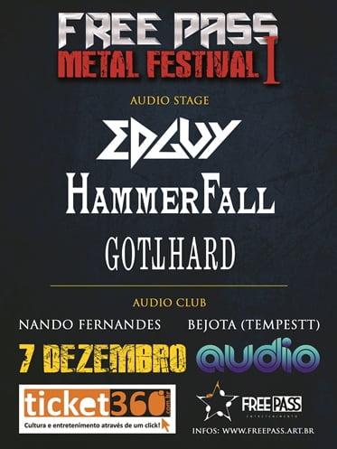 Free Pass Metal Festival: bandas convocam fãs para evento; confira os horários da noite