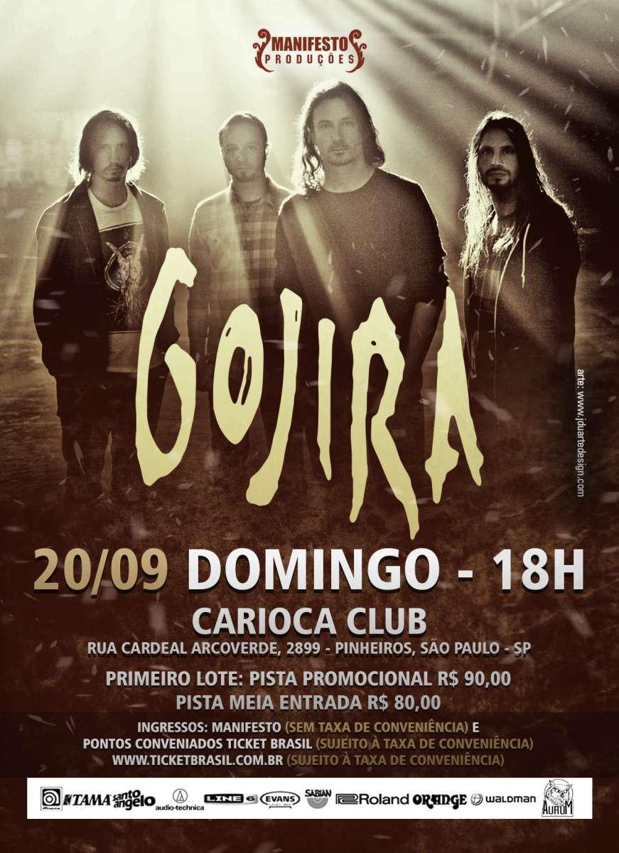 Gojira: Atração do Rock in Rio se apresenta final de semana em São Paulo