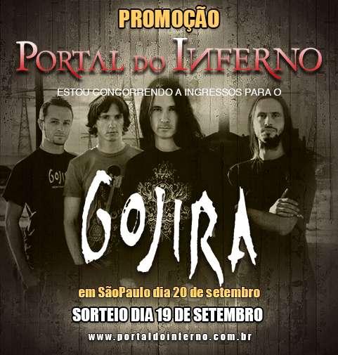 PROMOÇÃO: concorra a ingressos para o Gojira em São Paulo (ENCERRADA)