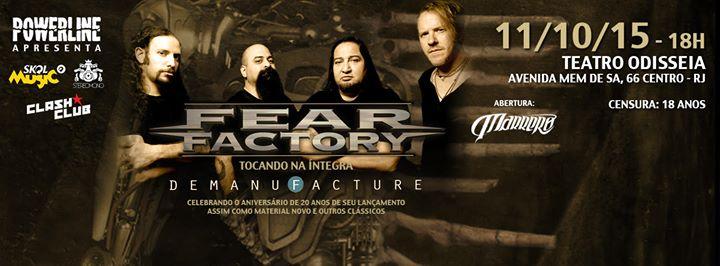 Fear Factory – Teatro Odisséia – Rio de Janeiro