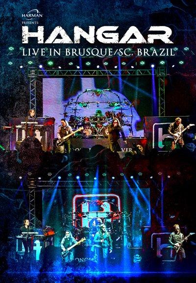 "Hangar lança na Expomusic o novo DVD ""Live in Brusque/SC, Brazil"""
